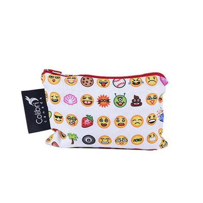 Colibri Reusable Emoji Snack Bag, Small