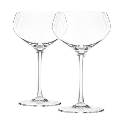 Final Touch Coupe Glass Set of 2