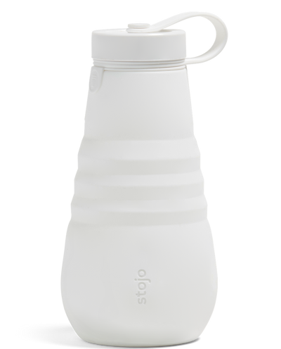 Stojo 20oz Collapsible Water Bottle - Quartz