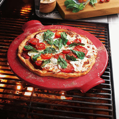 Emile Henry Pizza Stone - Red