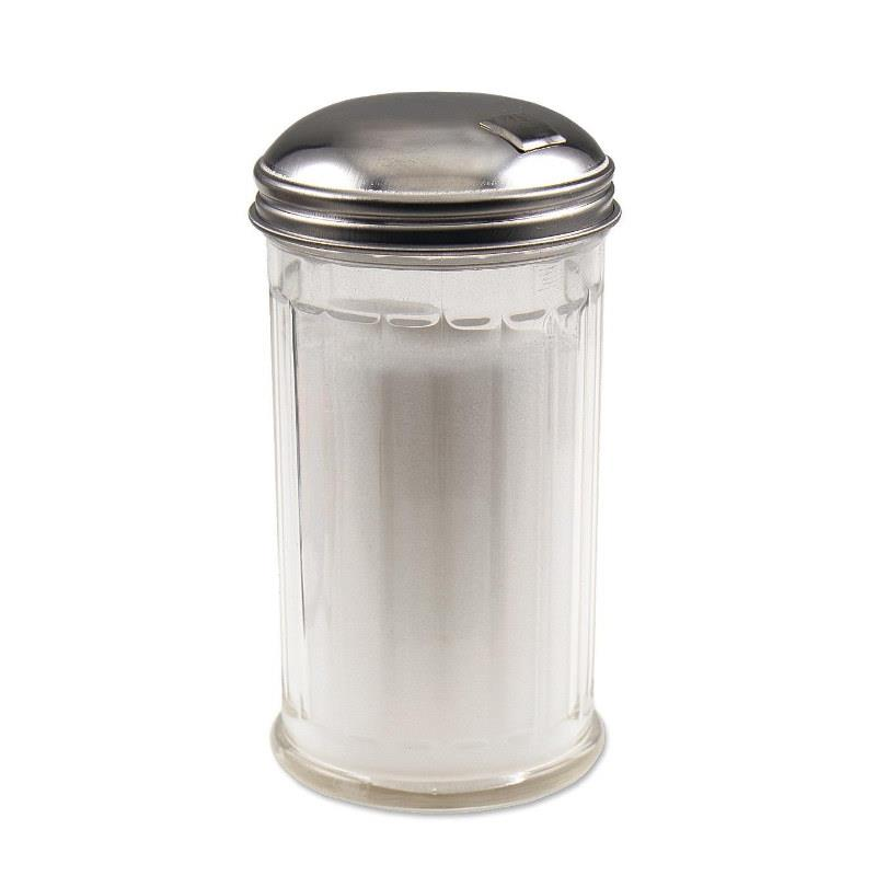 Browne 12 oz Glass Sugar Dispenser
