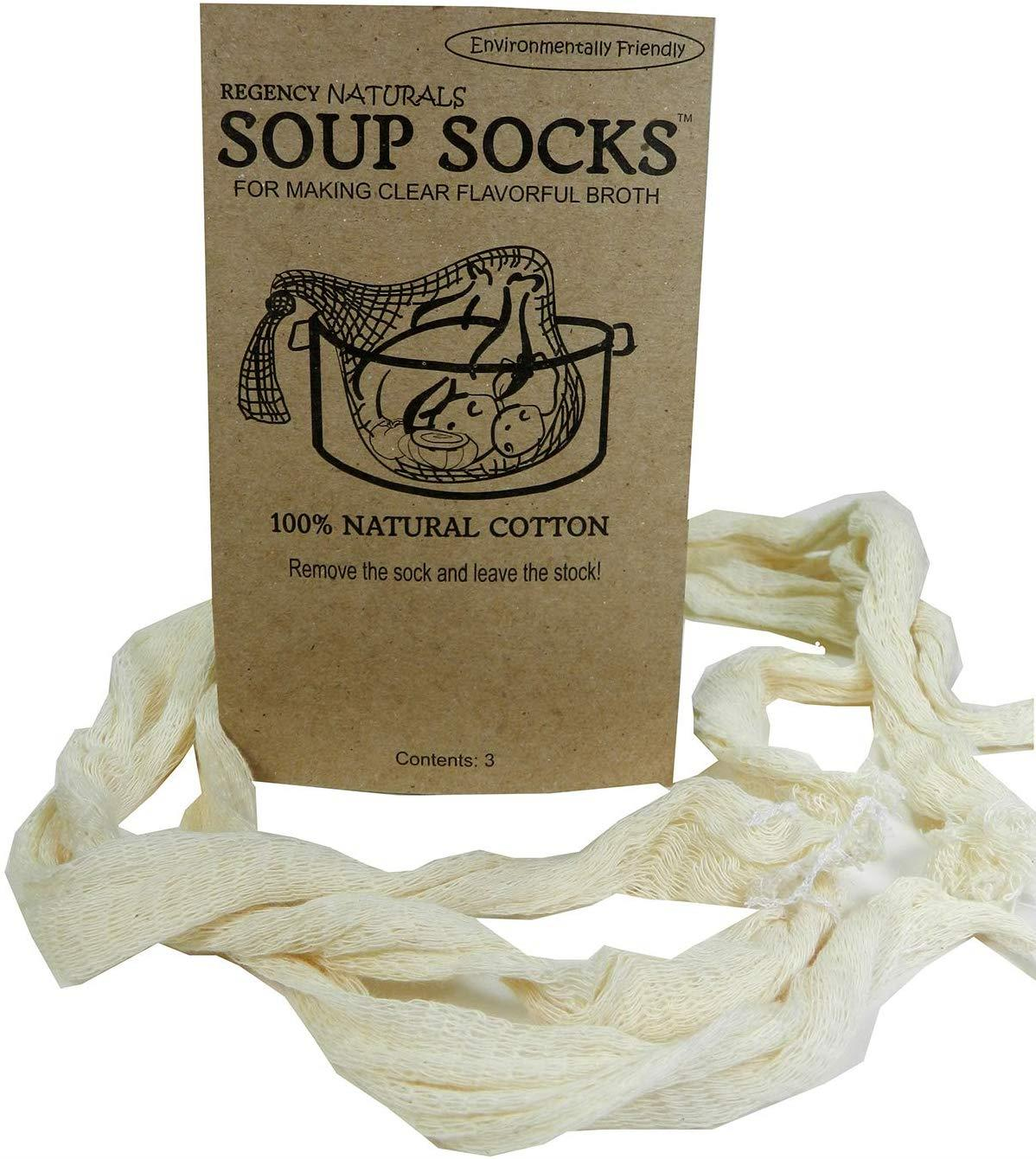 Regency Natural Soup Socks, Set of 3