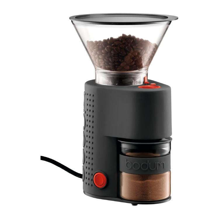 Bodum Bistro Black Electric Burr Grinder
