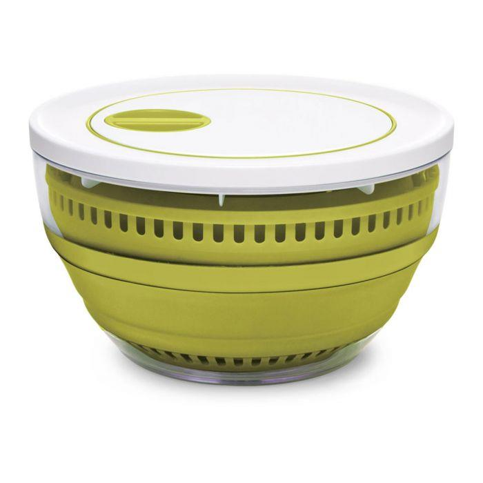 starfrit gourmet collapsible salad spinner