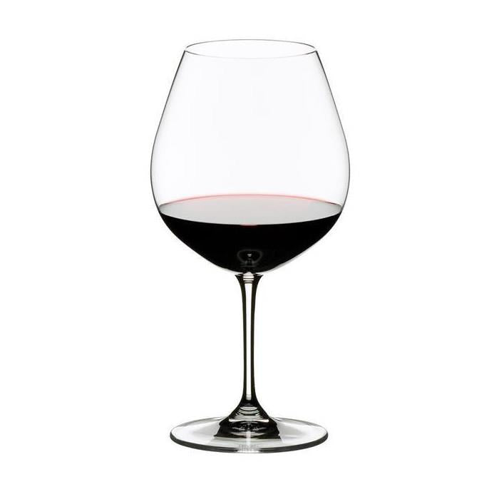 riedel pinot noir (burgundy red) wine glass set