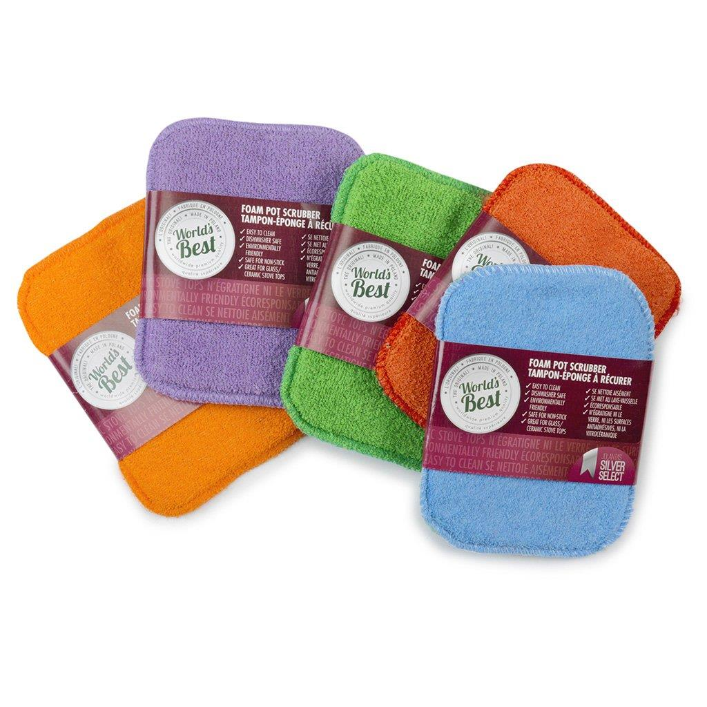 World's best Pot Scrubber w/ Foam