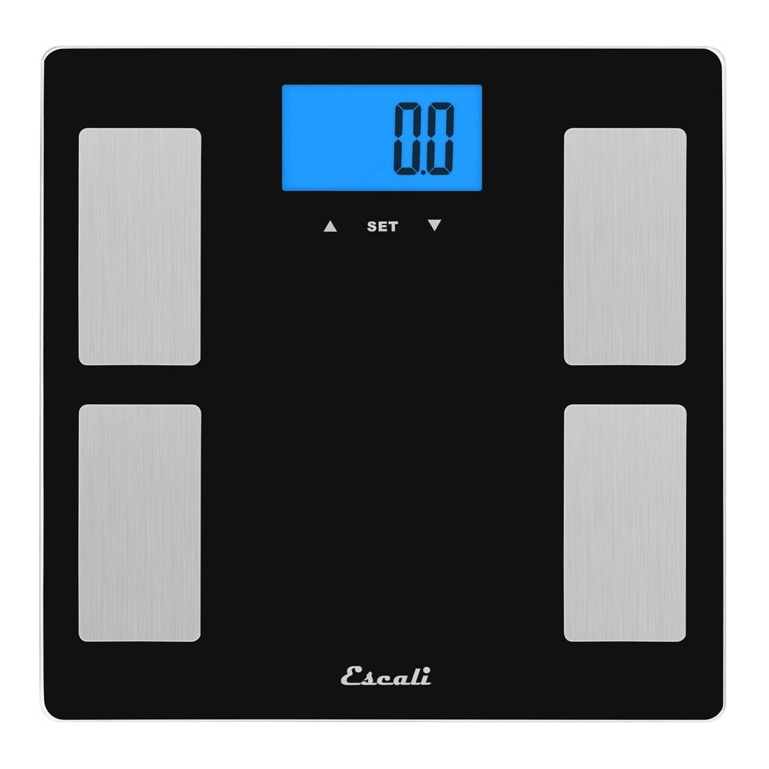 Escali Glass Health Monitor Bath Scale