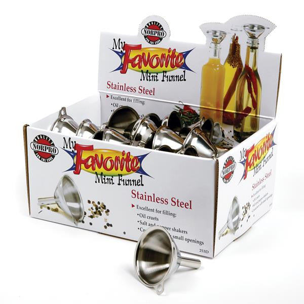 Norpro Stainless Steel Mini Funnel