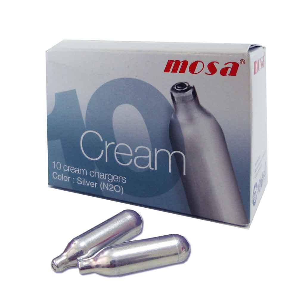 Mosa Whip Cream Whipper Cartridges Charges