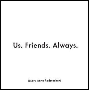 Quoteables Us. Friends. Always. Quotable Card