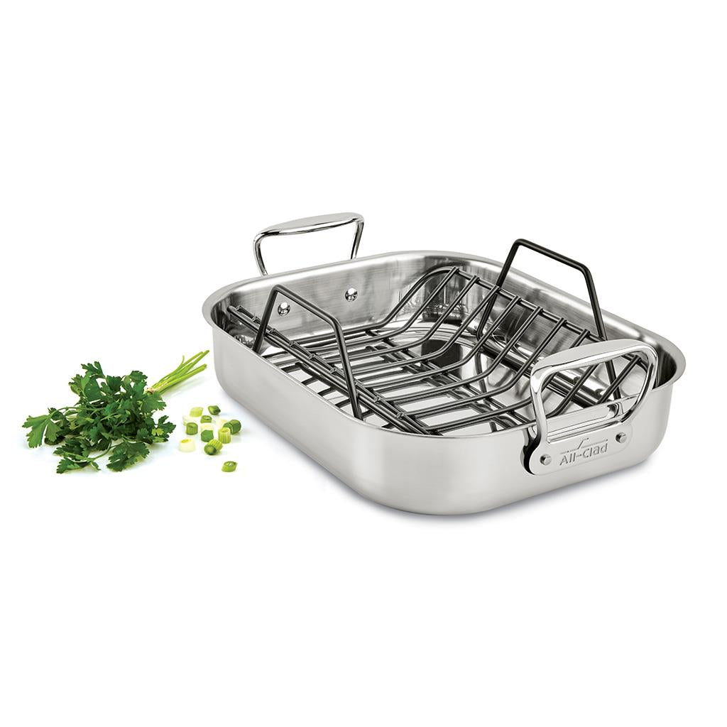 all-clad stainless steel roasting pan