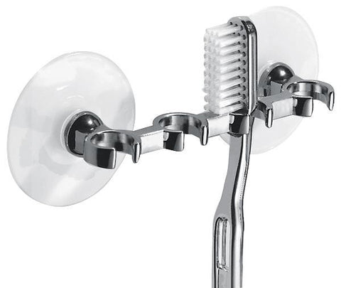 interdesign suction toothbrush holder