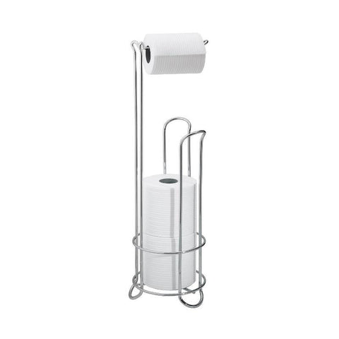 interdesign classico toilet paper holder stand plus