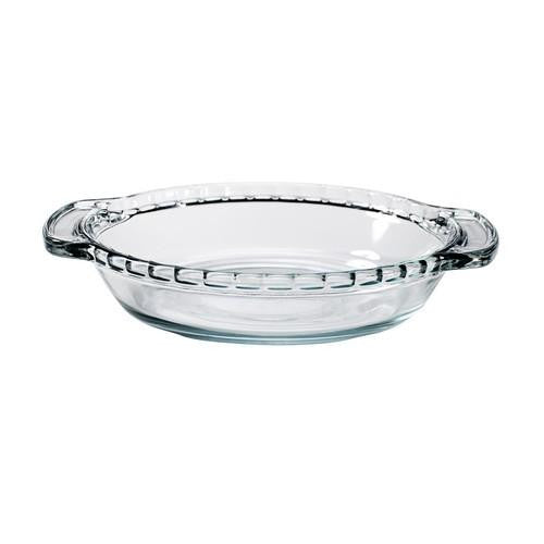 Anchor Hocking Glass Mini Pie Dish, 6in