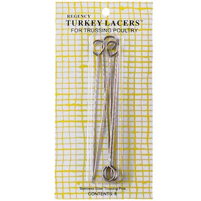 Regency Turkey Lacers, Set of 6