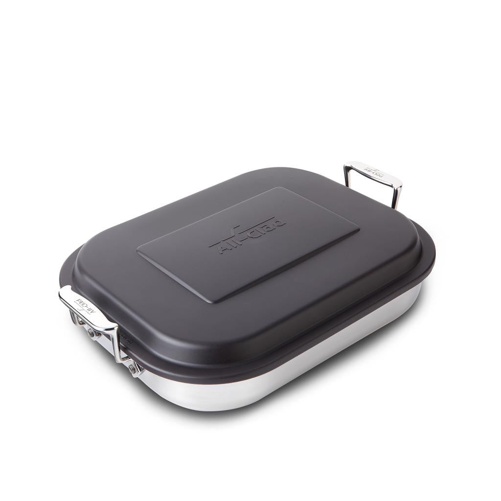 all-clad stainles steel lasagna pan with lid