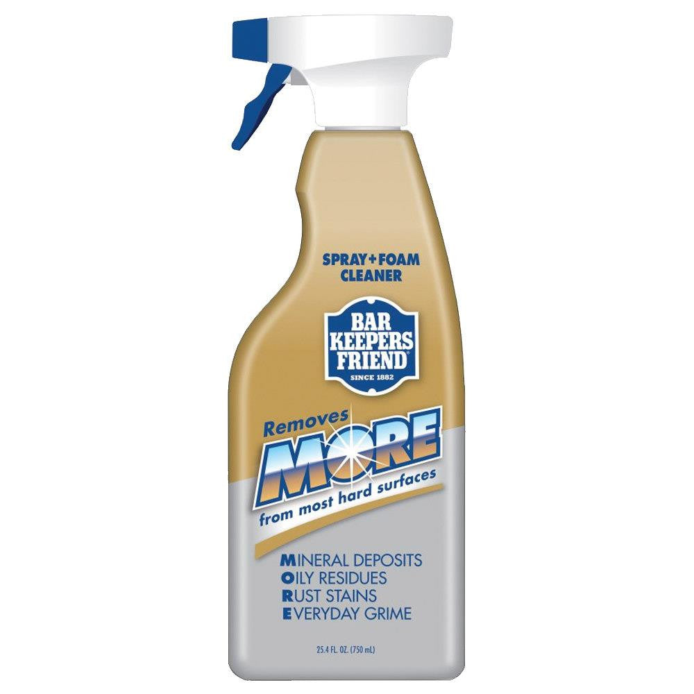 Bar Keepers Friend Spray & Foam Cleaner, 25oz