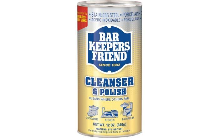 Bar Keepers Friend Cleanser & Polish, 12oz