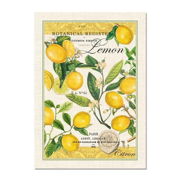 Michael Design Works Kitchen Towel, Lemon