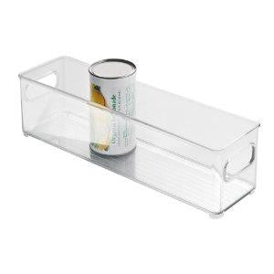 InterDesign Kitchen Binz Fridge & Pantry Organization 10x4x3in