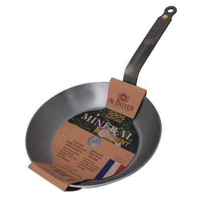 Mineral B Element Round Frying Pan