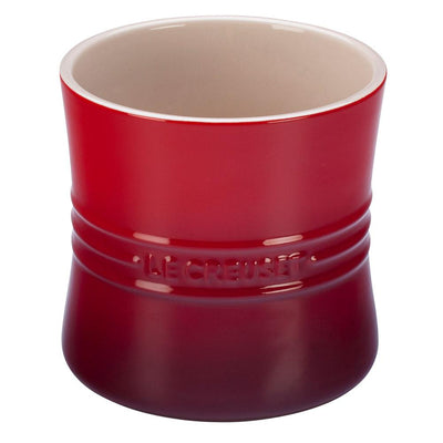 Le Creuset Utensil Holder Crock, Cherry