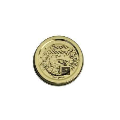 Bormioli Quattro Stagioni Replacement Jar Caps, Set of 3