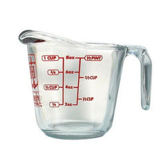 Anchor Hocking Glass Measuring Cup 1 cup