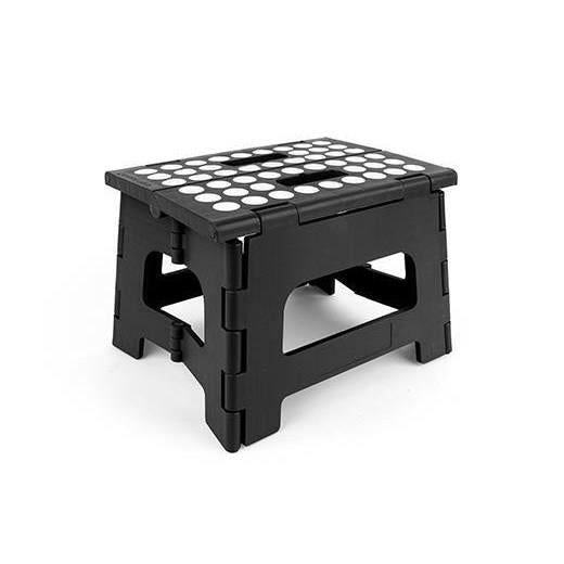 Kikkerland Rhino II Step Stool black