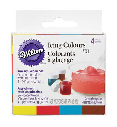 Wilton Icing Colour Kit 4 set