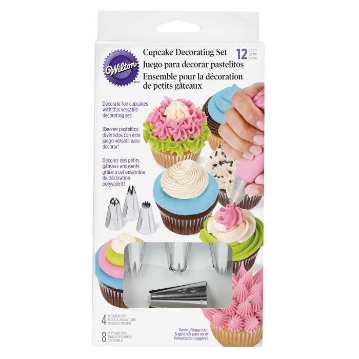 Wilton Cupcake Decorating Set, 12 Piece