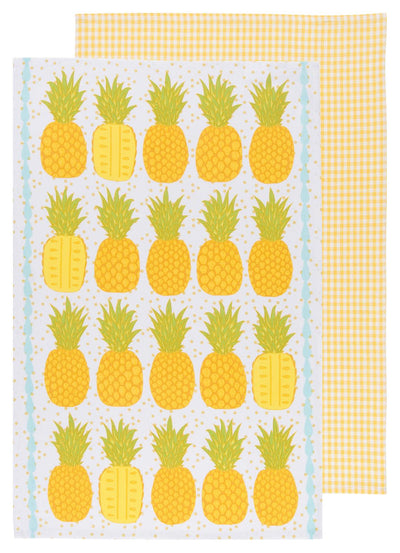 Now Designs Tea Towels, Pineapples