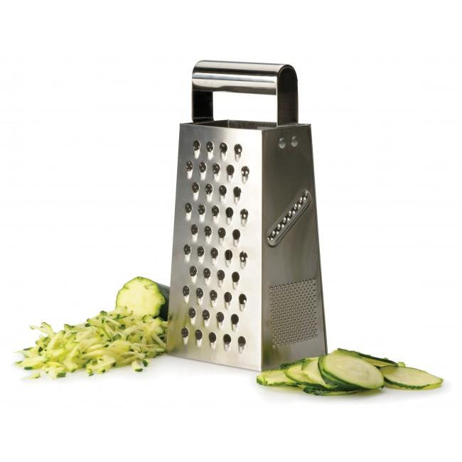 RSVP 4 Sided Stainless Steel Box Grater