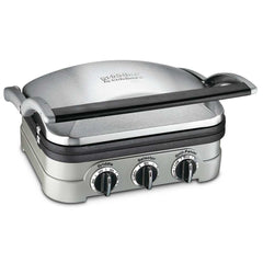 cuisinart CGR-4NC 5 in 1 Stainless Steel Non Stick griddler
