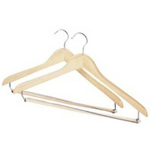 Whitmor Wood Hanger  Suit Set of 2