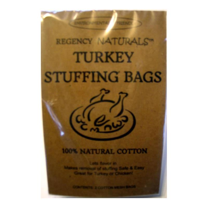 Regency Stuffing Bags, Set of 2 Natural Cotton