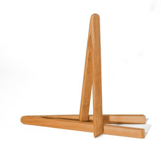 Danesco Mini Tongs bamboo