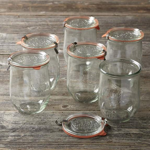 Weck Glass Canning Jar, Tulip