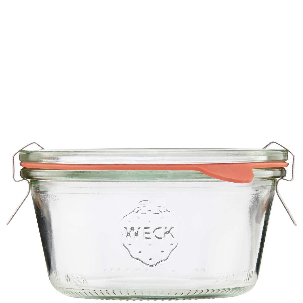 Weck Bowl Glass Jar, 300ml
