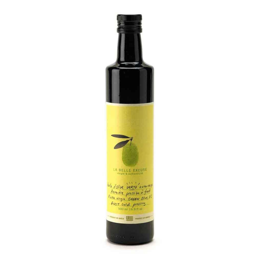 La Belle Excuse First Cold Pressed Green Olive Oil, 500ml Bottle