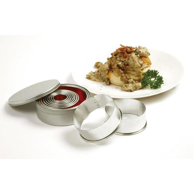 Norpro Biscuit Cutters Straight Round Set