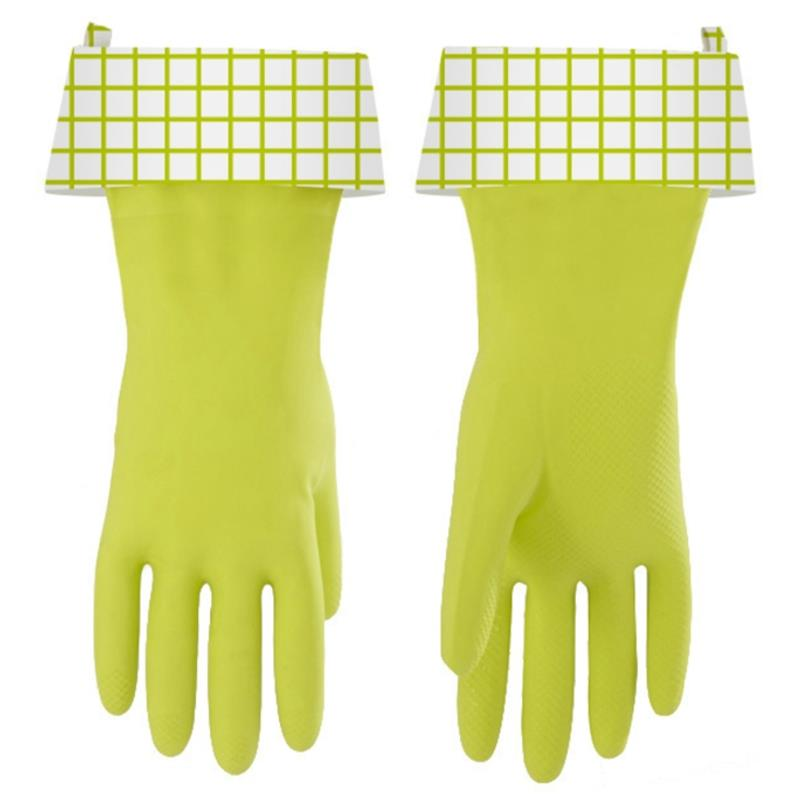 Full Circle Splash Patrol Latex Gloves, Green