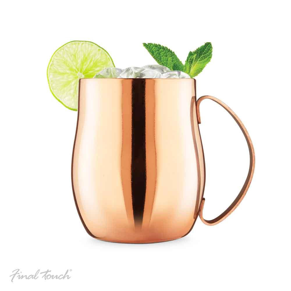 Final Touch Double Wall Moscow Mule Mug