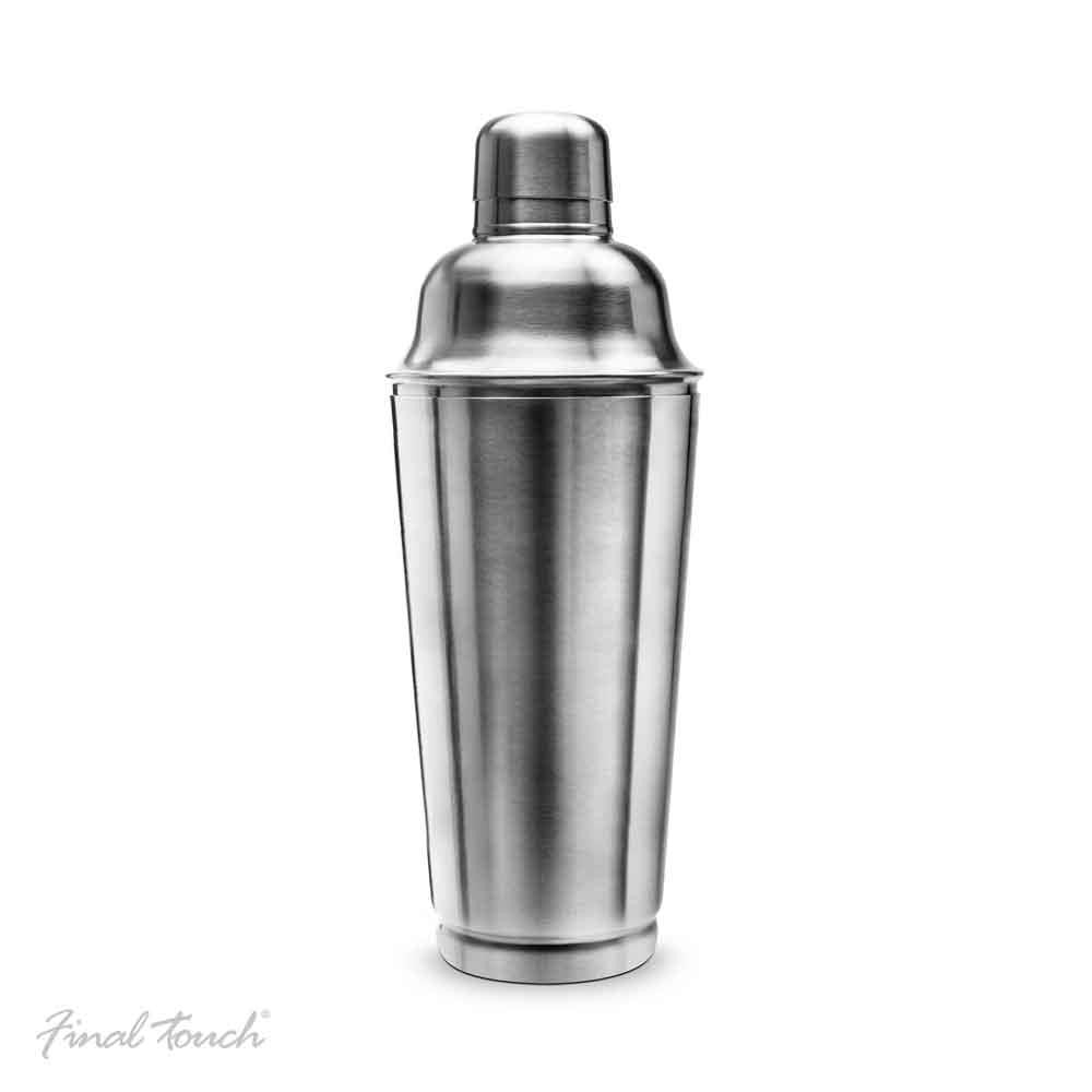 Final Touch Stainless Steel Cocktail Shaker