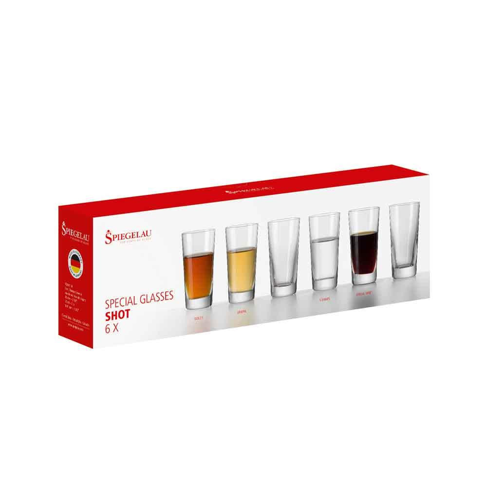 Spiegelau Shot Glasses, Set of 6