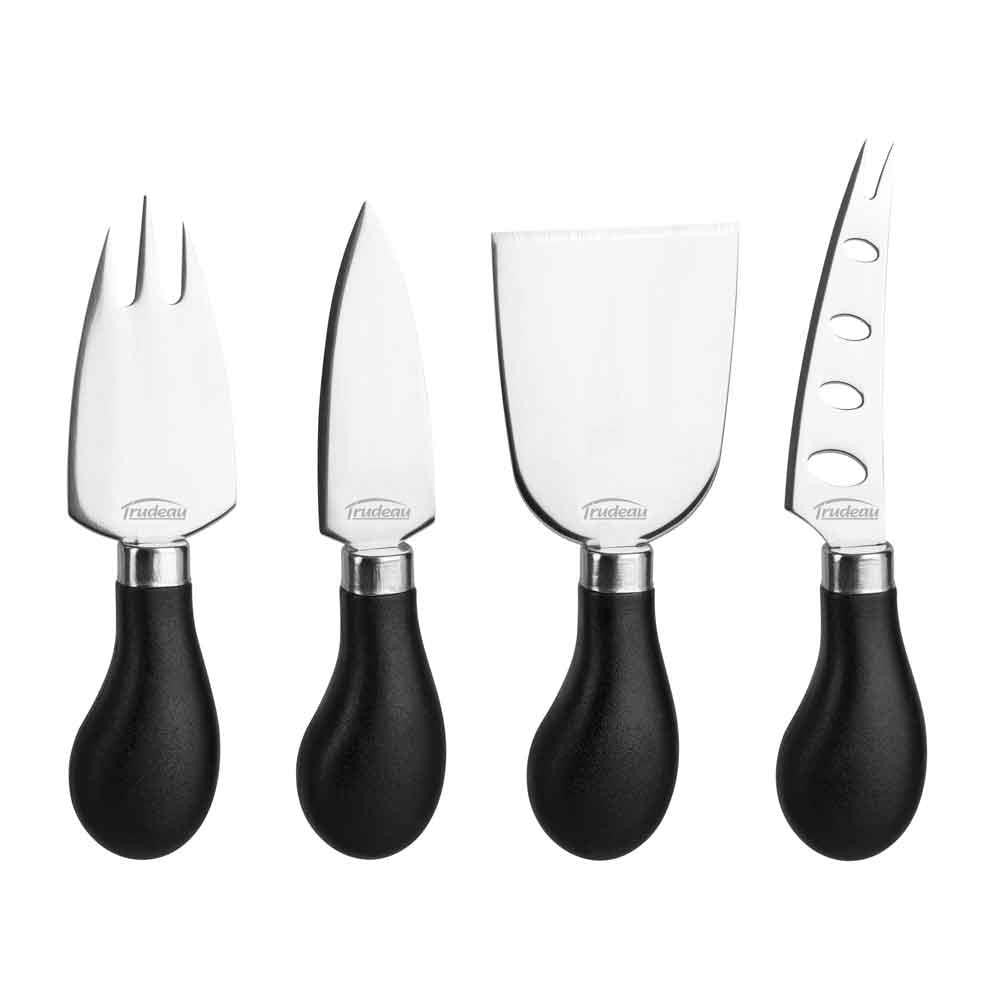 Trudeau Maison Cheese Knives, Set of 4