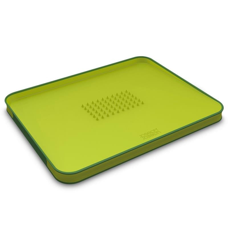 Joseph Joseph Cut&Carve Plus Chopping Board, Green