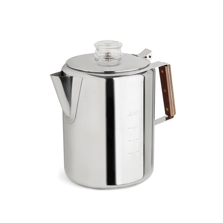 Tops 12 Cup Stove Top Percolator