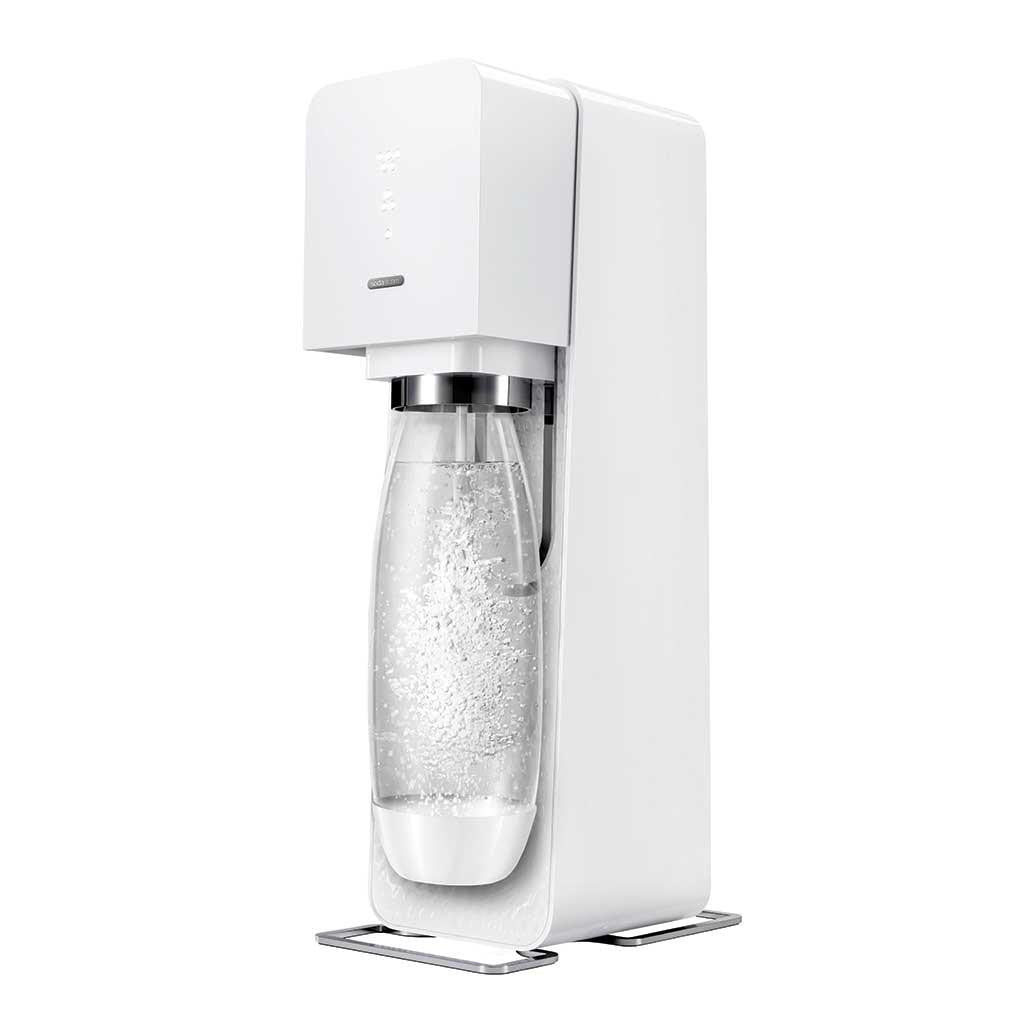 SodaStream Source Soda Maker Starter Kit, White