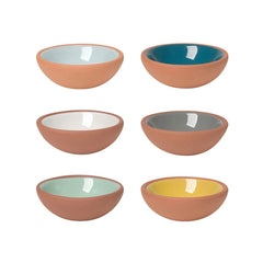 Now Designs Terracotta Pinch Bowl Set